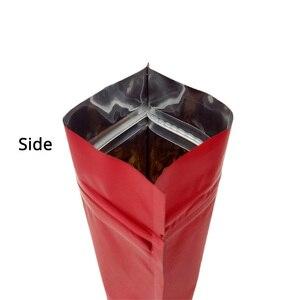 Image 5 - Пластиковый мешок металлический майлар ziplock мешок стенд клапан мешок закрывающийся алюминиевая фольга печать на заказ ziplock мешок