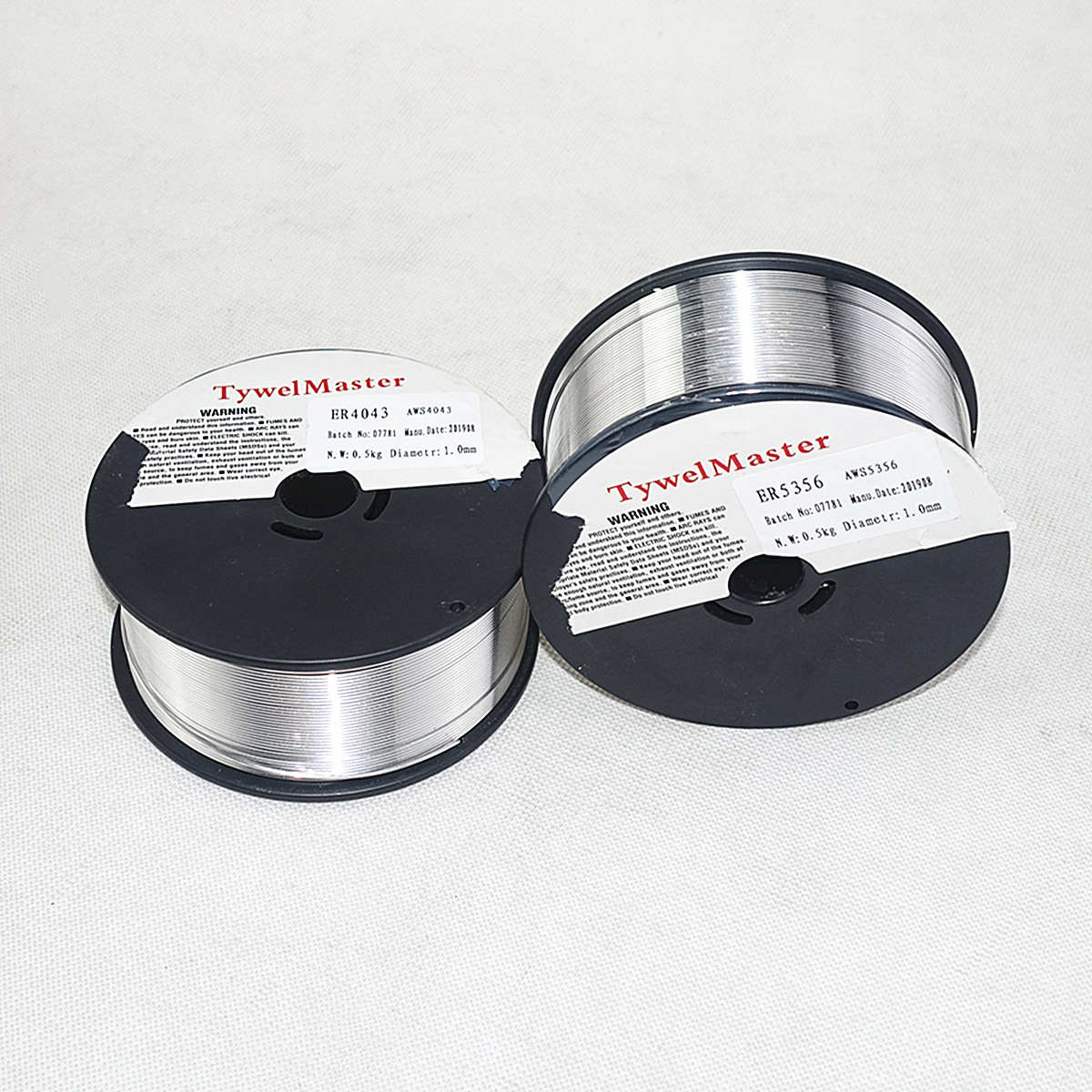 Image 2 - Aluminum Welding Wire ER4043 ER5356 0.5kg 0.8/1.0/1.2mm Mini Spool Gas Shield Aluminum Alloy Welding Material MIG Wire-in Welding Wires from Tools