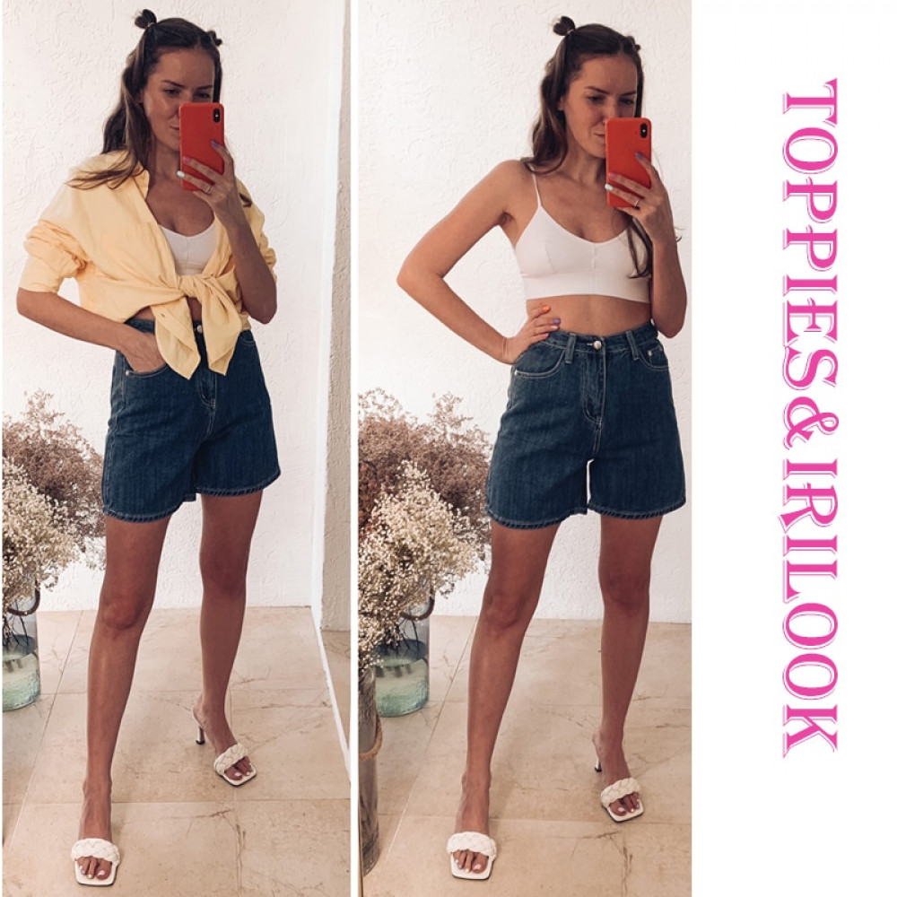 toppies summer jeans shorts womens vintage blue denim shorts high waist streetwear women clothing
