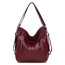 حقائب يد جلدية نسائية عالية الجودة 3IN1 الإناث حقيبة كتف جلدية ناعمة سعة كبيرة حمل الحقائب النسائية كيس السيدات حقيبة اليد