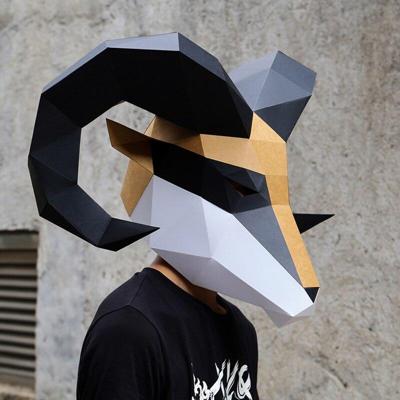 מסכת ראש אוריגמי - אייל  3