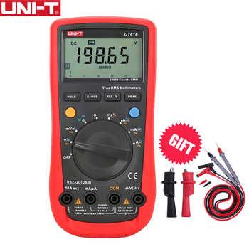 UNI-T UT61E Digital Display Auto Range True RMS Multimeter 22000 Counts Voltage Current Meter Handheld High Precision Test - DISCOUNT ITEM  36 OFF Tools