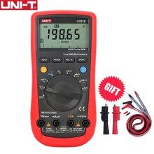 UNI Tデジタルディスプレイオートレンジ真の実効値マルチメータUT61E led 22000カウント高精度ハンドヘルドテストツール電圧電流計