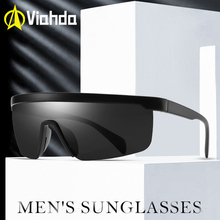 VIAHDA One ชิ้นรูปร่างแว่นตากันแดดผู้ชาย Polarized Sun Glasses ผู้หญิงเหมาะสำหรับยาวนานแว่นตา