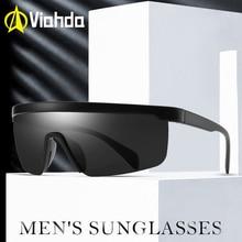 VIAHDA قطعة واحدة شكل الرجال النظارات الشمسية نظارات شمسية مستقطبة النساء مناسبة طويلة الأمد نظارات