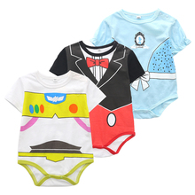 Infant Romper Outfits Jumpsuit Toddler Baby-Boys-Girls Summer Newborn Pullover Hot O-Neck