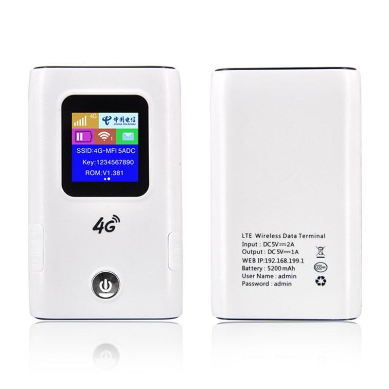 Unlock 4G LTE Wifi Router Car Mobile Wifi Hotspot LTE Modem With Sim Card Slot