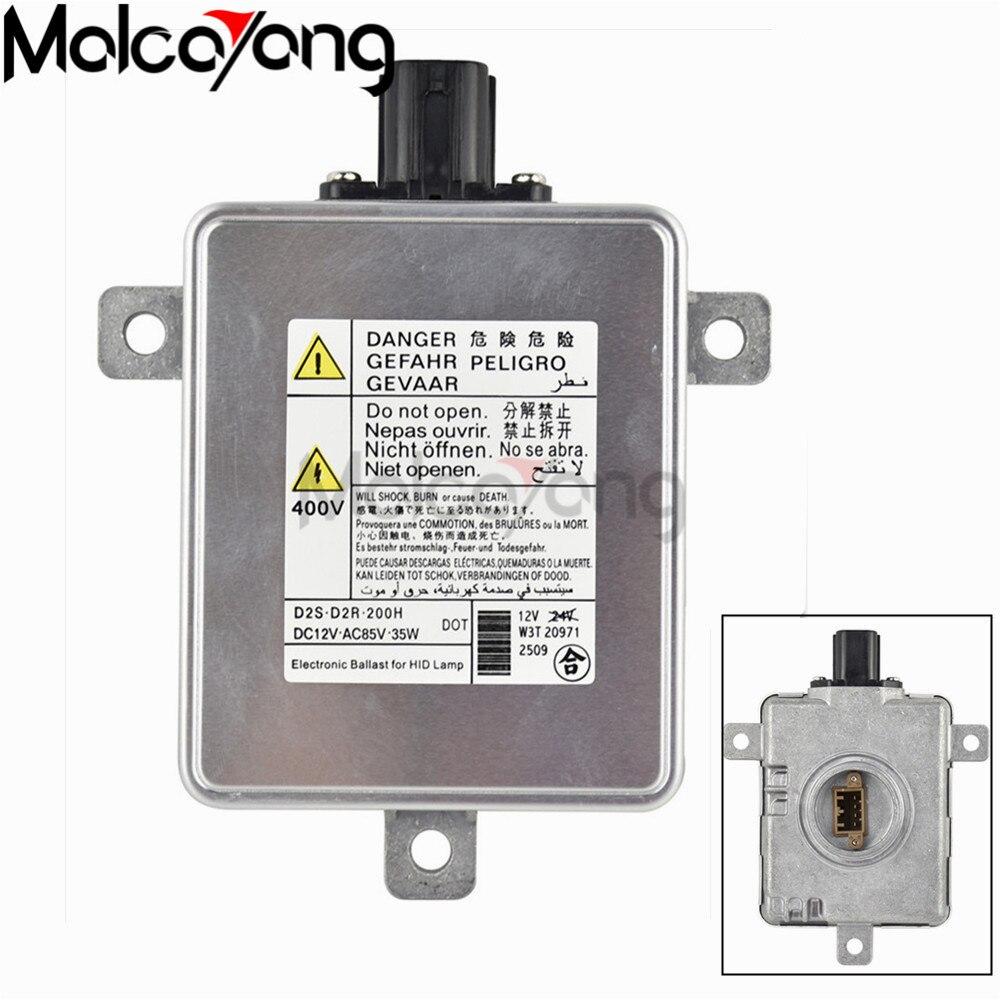 2x HID Xenon Ballasts HID Control Unit For Mitsubishi W3T19371 Acura Honda Mazda