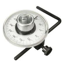 Ручной Автомобильный угловой манометр, инструменты, оборудование, запчасти, 1/2 дюймовый динамометрический ключ
