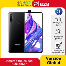 In stock global version Honor 9X 4GB 128GB Smartphone 48MP AI triple camera 6.59 ''mobile phone Google play' CellPhone