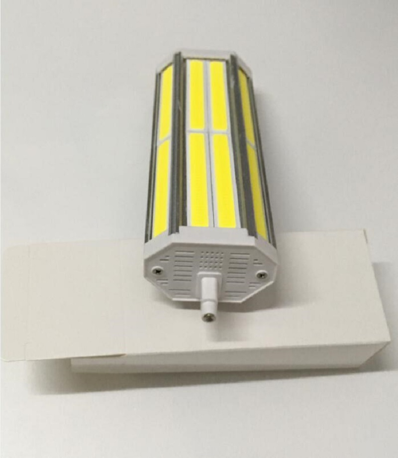 High power Dimmable 189mm <font><b>led</b></font> <font><b>R7S</b></font> light <font><b>50W</b></font> COB J189 <font><b>R7S</b></font> <font><b>led</b></font> lamp replace 500W halogen lamp 110-240V image