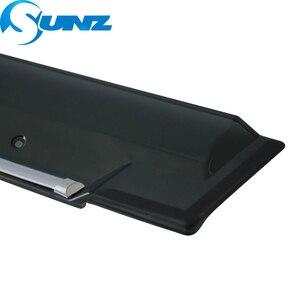 Image 4 - Smoke Side Window Deflector For Honda CRIDER 2019 Window Shield Cover Window Visor Vent Shade Sun Rain Deflector Guard SUNZ