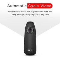 Mini kamera HD 1080P hareket algılama çizgi kam polis vücut motosiklet bisiklet hareket kamera yerleşik USB 560 MAh polimer pil