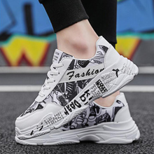 Dropshipping Summer White Sneakers Sping Woman Casual Fashion Sneakers Graffiti