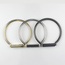 1 Piece Round Metal bag handle O Ring Handbag Clutch DIY Replacement Accessaries 3 sizes available
