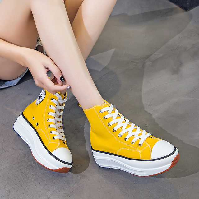 Women High Top Sneaker -Lady Autumn  Sneakers 4