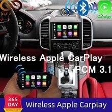 Sinairyu autoradio Android et Apple sans fil, avec miroir pour Porsche PCM 3.1 2010 2016 Cayenne Macan, Cayman Boxster 911