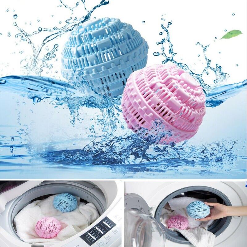 Eco Magic Laundry Ball Orb No Detergent Washing Machine Ion Wash