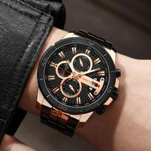 CURREN Top Brand Luxury Mens Watches Male Clocks Date Sport Military Clock Mesh Strap Quartz Business Men Watch Gift 8337 men watch luxury mens watches male clocks date sport military clock leather strap quartz business top brand relogio masculino