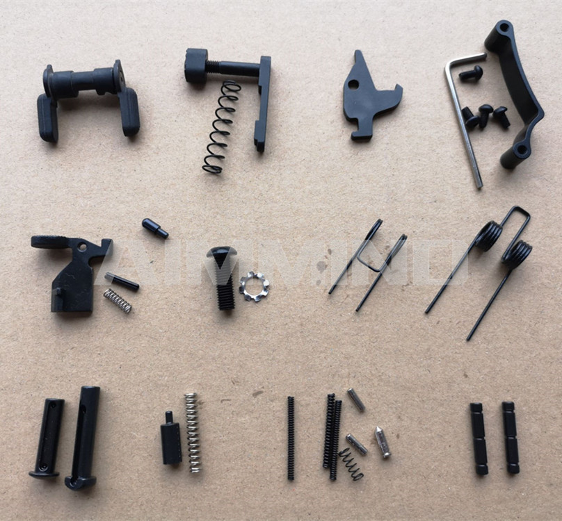 Enhanced AR15 Lower Parts Kit 223 / 5.56 Spring Kit Replacemen With Safety Selecter Magazine Catch