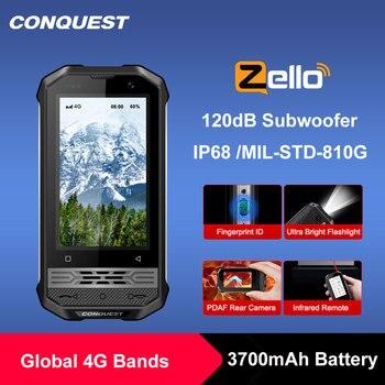 CONQUEST-teléfono inteligente F2 de lujo, resistente al agua IP68, 2020, NFC, versión Global, pequeño F2, Android