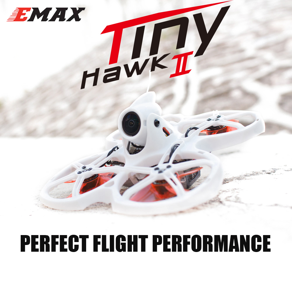 Tinyhawk S II ,Emax FPV Racing Drone with F4 FC,16000KV Motor,Support 1/2S Battery 5.8G FPV Glasses