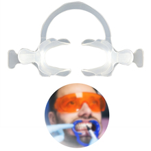 Зубные щеки губы Ретрактор рот открывалка c-образный с ручкой белый рот открывание устройства уход за полостью рта большой/маленький размер