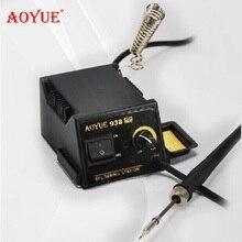 ESD высокое качество AOYUE 938 паяльная станция сварочные наборы термостат электрический утюг 60 Вт высокой мощности solderi