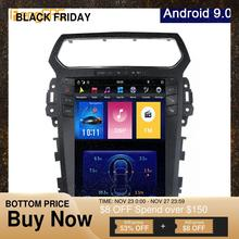 "Android 9.0 Syetem 4G+64G Car GPS Navigation for Explorer 2011 2019 Tesla Vertical 12.1"" Screen PX 6 DVD Player 1920*1080 Unit"
