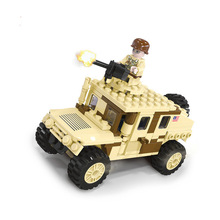 Technic WW2 Modern Military Armed Army Armas Forces Car Block United States Navy Seals Figures Toys Weapon Chariot Troopers Idea united states military armed forces full size ribbon us merchant marine expeditionary