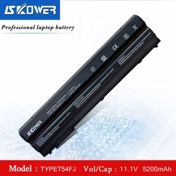 SKOWER T54FJ Laptop Battery For Dell Latitude E6420 E6520 E5420 E6430 E5530 For Inspiron 7420 7520 7720 5420 5520 5720 8858X аккумулятор rocknparts zip 11 1v 5100mah для dell latitude e6420 inspiron 15r 5520 17r 5720 17r se 7720 latitude e5420 e5430 478560