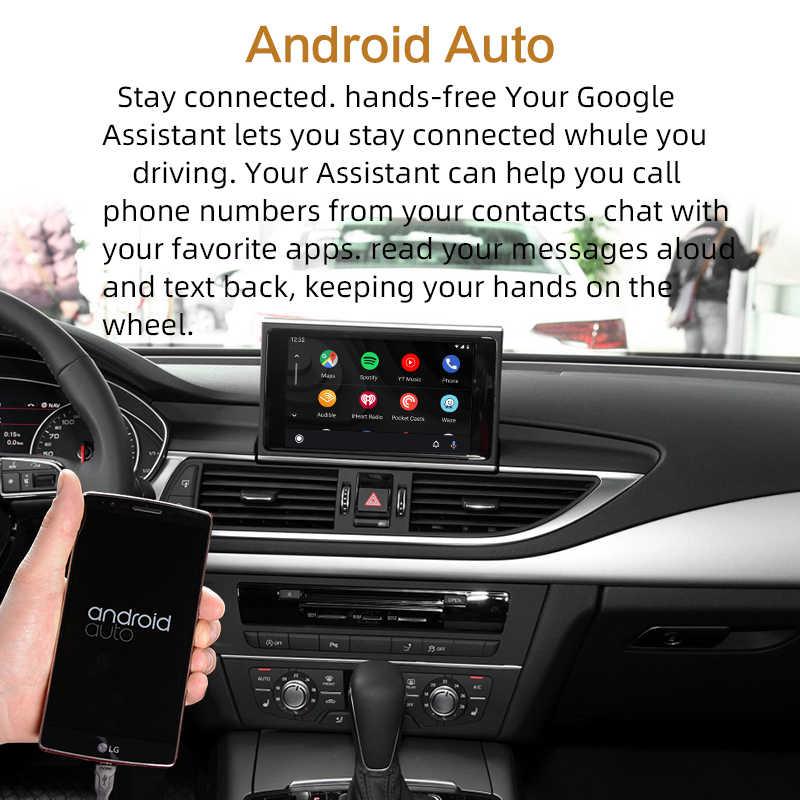 """Sinairyu Wifi Không Dây Apple Carplay Cho Xe Audi A6 C7 2012-2017 Mmi Rmc Nhỏ 6.5 """"7"""" Màn Hình OEM Retrofit Hỗ Trợ Camera Lùi"""