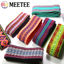3Meters Polyester Jacquard 50mm Elastic Band Rubber Band Webbing Pants Waist Binding Tapes for Skirt Bags Belt DIY Sewing Crafts 3 5meter meetee 50mm elastic band rubber band webbing pants waist binding tapes for skirt bags belt sewing clothing accessories