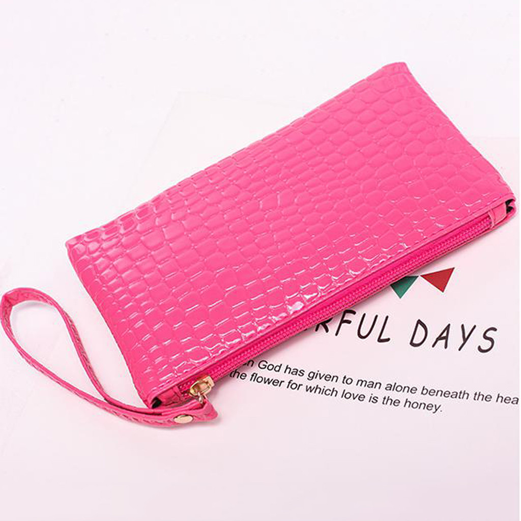 Heebe32e175cd4b8ebb5b1807bb37c087v - Women Coin Purse small wallet Crocodile Leather