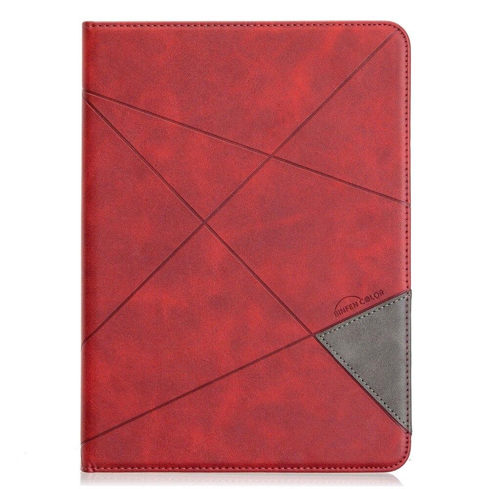 2020 PU Wallet 2th Gen Card Case for Figure 11 Geometric Flip New Case Pro iPad Tablet