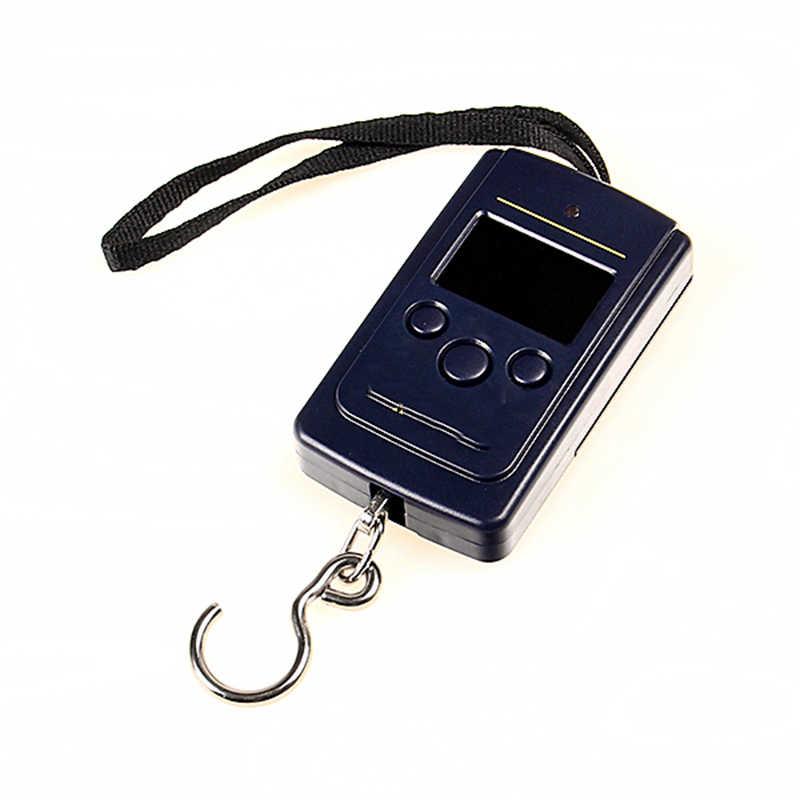 Matériau ABS 0.01 kg-20 kg de Poids de Bagage Numérique Électronique Portable LCD Suspendu Crochet De Pêche Balance de Poche
