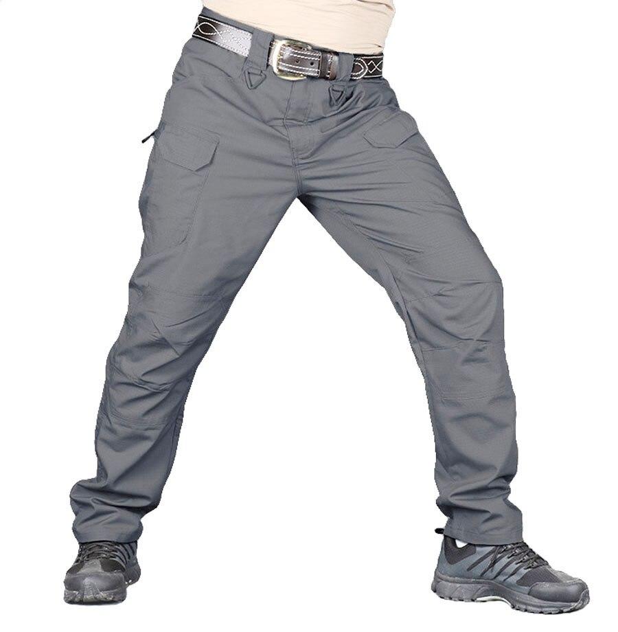 Image 5 - IX9/IX7 городские военные тактические мужские штаны swat, армейские штаны, повседневные брюки, брюки с несколькими карманами, мужские брюки карго, 5XLПовседневные брюки   -