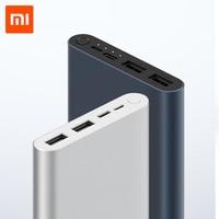 10000mAh Xiao mi mi batterie externe 3 batterie externe 18W Charge rapide Powerbank 10000 avec USB type C pour téléphone portable|Batterie externe|   -