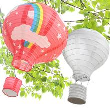 White Color Chinese Paper Lanterns 25cm/35cm/40cm For Wedding Event Party Decoration Holiday Supplies Ball Decor
