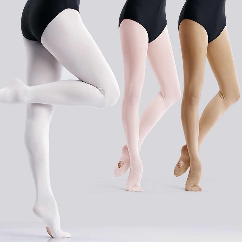 Gadis-gadis Dewasa Rental Balet Celana Ketat Microfiber Dance Stoking Mulus Wanita Balet Pantyhose 60D