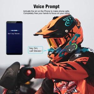 Image 3 - Nieuwe Motorfiets Bluetooth Helm TMAX M Waterdicht Moto Helmen Stereo Headsets Handsfree Hoofdtelefoon (Zonder Intercom Functie)