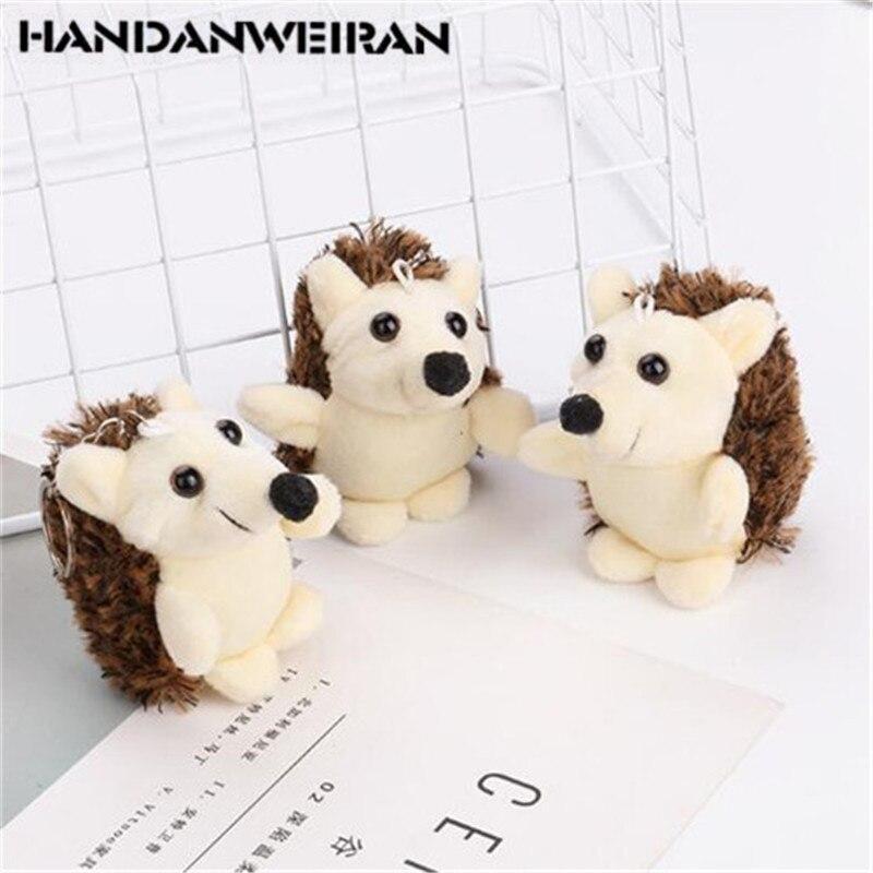 1 PCS New Christmas Gift Hedgehog Plush Pendant Doll Phush Toys Stuffed Toys Holiday Gift For Girls&Boys&Childs HANDANWEIRAN