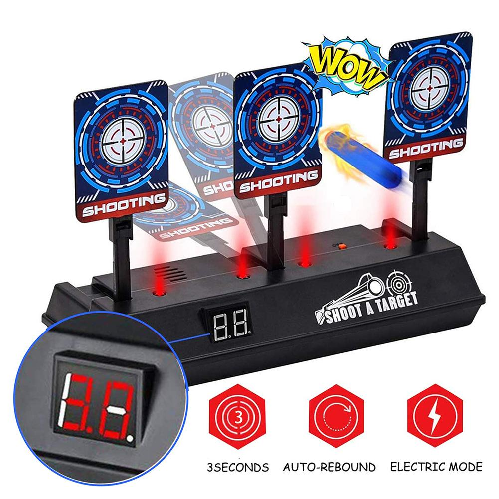 Electronic Shooting Target Scoring Auto Reset Digital Targets Set For Boys And Girls Gift