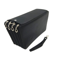 Pu Leather School Pencil Case 184 Hole Large Capacity Color Pencil Bag Box Multi-Function Pencil Box Art Supplies Gifts