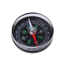 Compass Navigation Survival-Button-Design Hiking Mini North Portable Camping Guider Practical