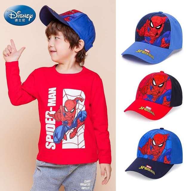 Фото детские бейсболки disney mickey marvel для мальчиков кепки snapback