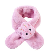 Kids Scarves Fashion 2019 Winter children Scarves ShawlWarm Baby Boys Girls Scarf Thicken Soft Collar Children Stretch Neck Ring(China)