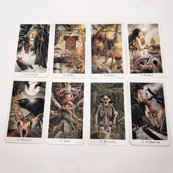 Tarot familiares cartas juego de mesa cubierta español adivinación juego 78 tarjetas de alta calidad Smith Tarot cubierta de tarjetas de juego