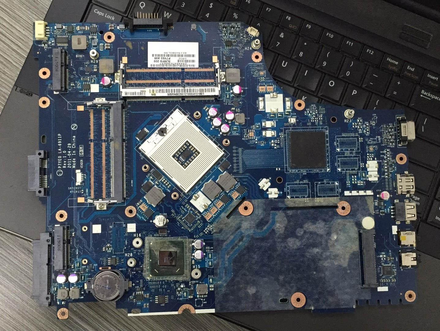 For Acer Aspire 7750 AS7750 7750Z 7750G Laptop Motherboard Notebook Pc Mainboard Main Board HM65 P7YE0 LA-6911P Rev 1.0 Test Ok