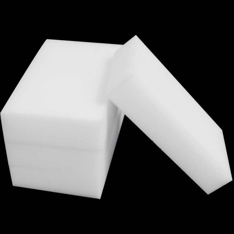 100 ピース/ロットメラミンスポンジマジックスポンジ消しゴムメラミンスポンジクレンザークリーニングスポンジ浴室キッチンアクセサリー